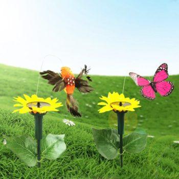 Solar Powered Dancing Butterfly Hummingbird