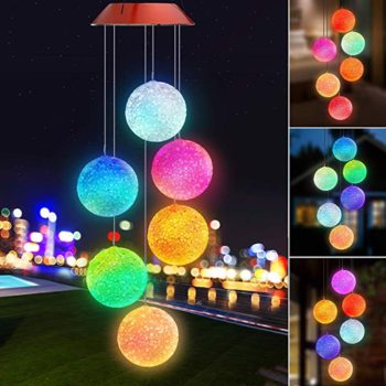 Solar Powered Ball Lights