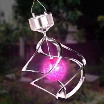 LED Solar Wind Chime Light