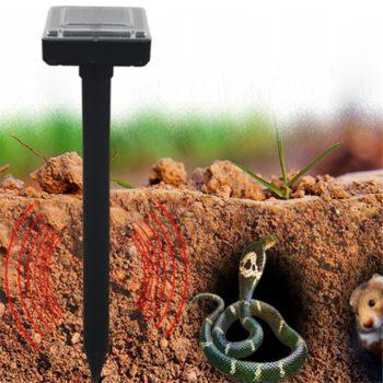 Smart Solar Powered Pest Repeller