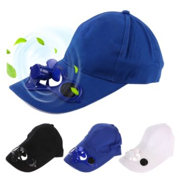 Solar Powered Cooling Hat
