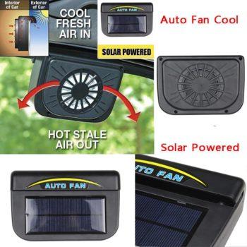 Solar Powered Air Cooler Fan
