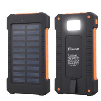 Waterproof Solar Panel Powerbank