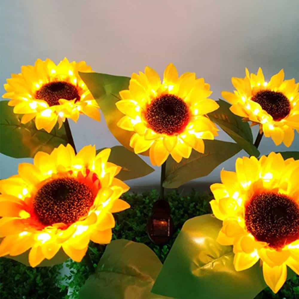 Sunflower Solar Garden Light
