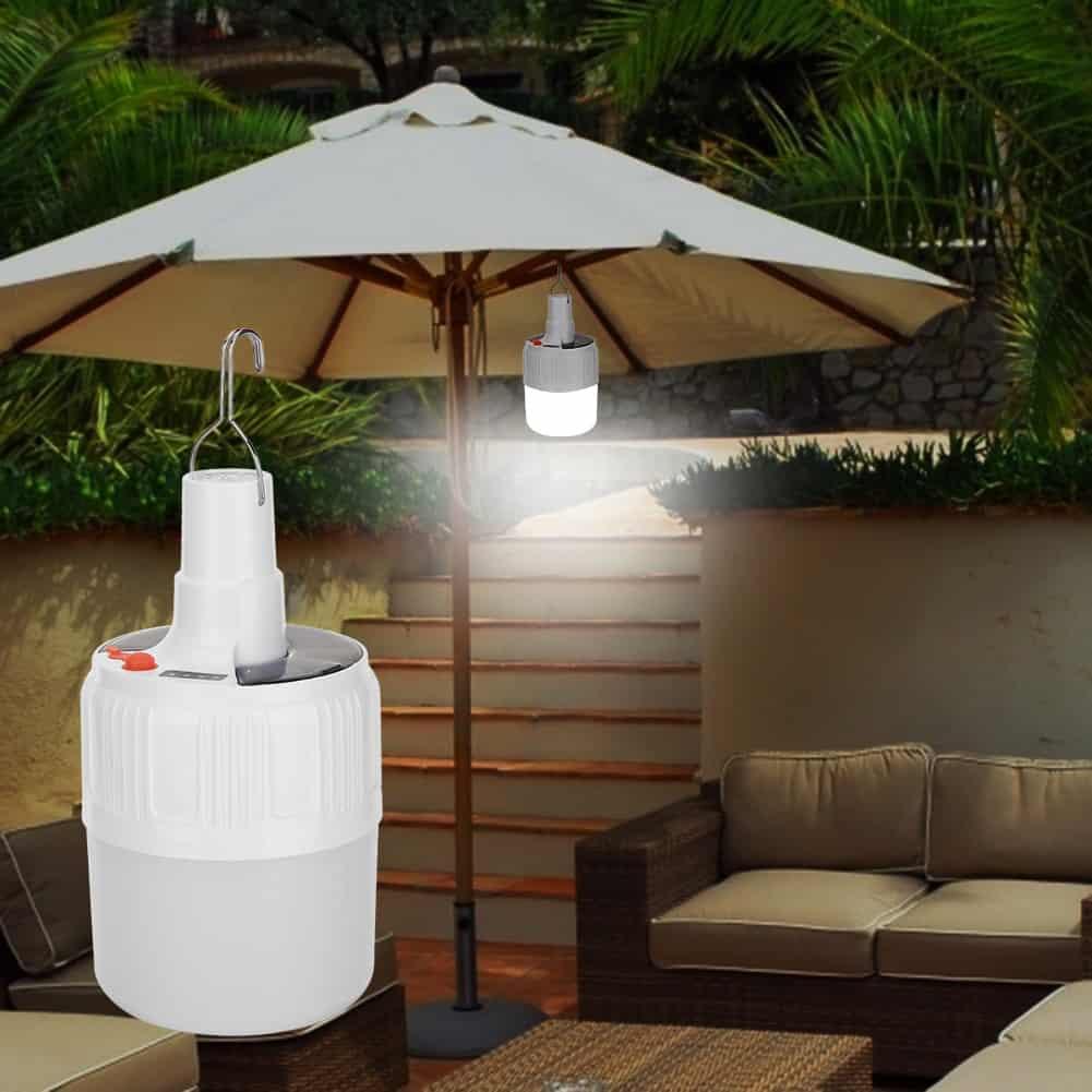 Rechargeable LED Solar Bulb