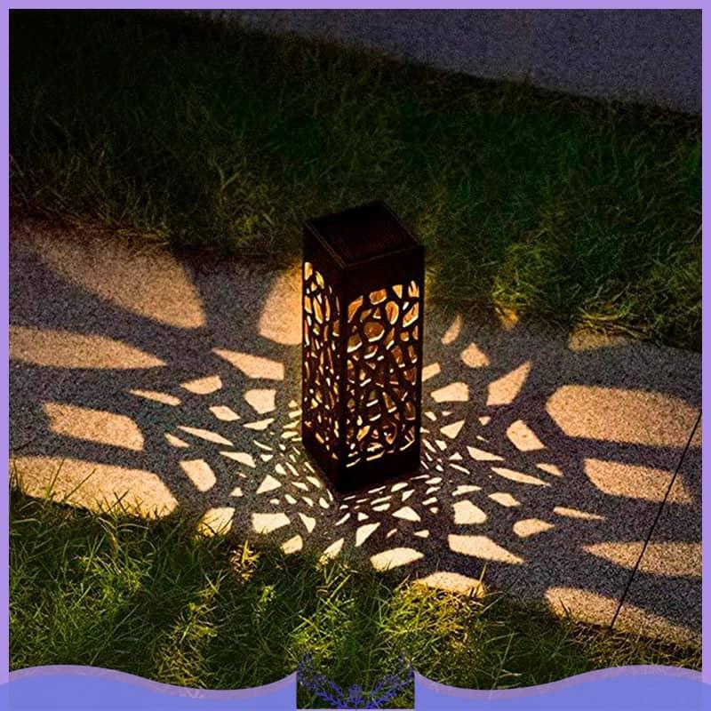 Solar Garden Pathway Lawn Lamp