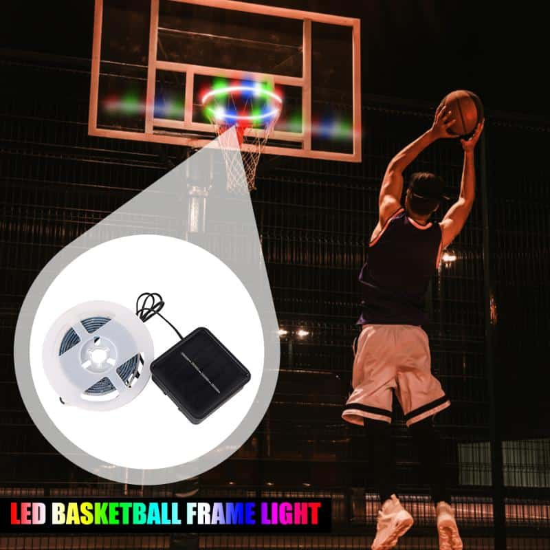 Basketball Hoop Solar Light